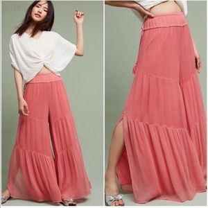 Anthropologie Elevenses Rockport wide leg pants